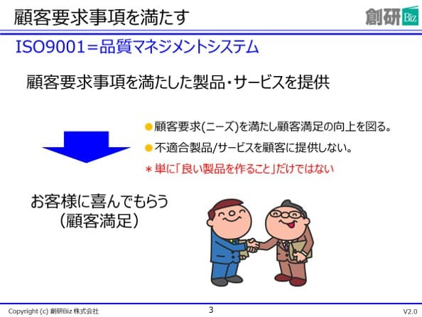 ISO9001内部監査員研修サンプルテキスト