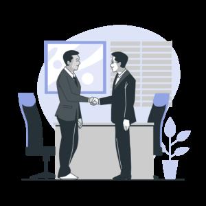 ISO認証取得の支援体制の画像